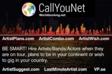 Welcome to hire Artist/Bands/Actors